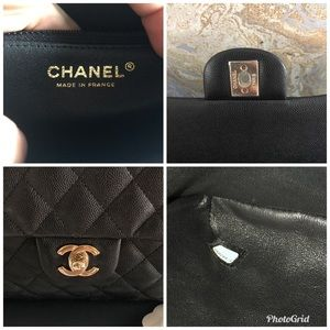 CHANEL Bags - Chanel 18S Timeless Kisslock CC Black CaviarClutch